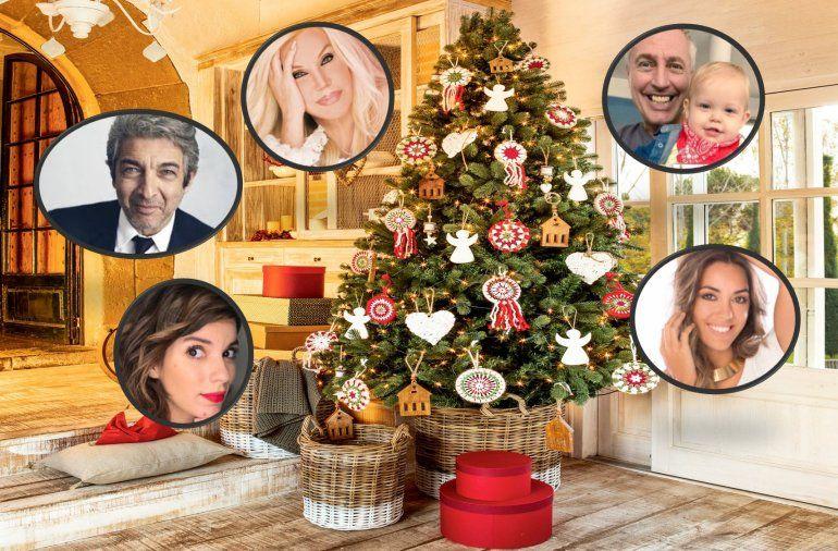 Los saludos de los famosos para esta Navidad