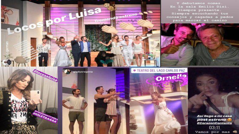 Pedro Alfonso y Paula Chaves volvieron a subirse juntos al escenario de Villa Carlos Paz