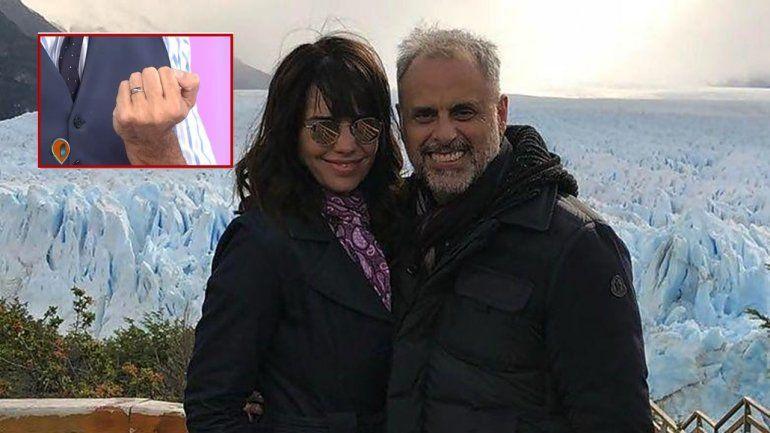 Jorge Rial se comprometió: sorprendió a Romina en medio de la Nochebuena