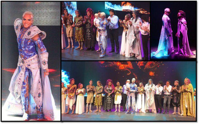 A sala llena estrenó Siddharta en Villa Carlos Paz