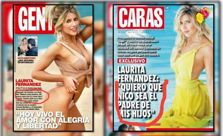 Laurita quiere lo mismo con todos sus novios: ya van dos tapas que dice que quiere un hijo, primero con Fede Bal y ahora con Cabré