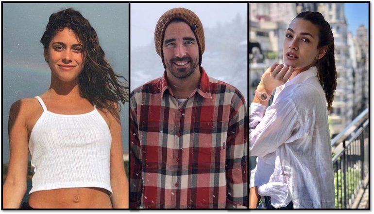 Nacho Viale, su ex Lucía Pedraza y Tini Stoessel, juntos en el cumpleaños del nieto de Mirtha Legrand