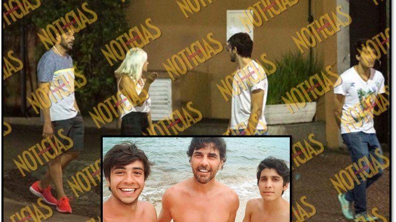 El hijo de Juan Darthés protagonizó un escándalo con una cronista que intentó fotografiarlos
