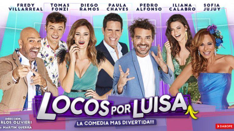 Locos por Luisa, el primer espectáculo de Carlos Paz que debuta con dos funciones