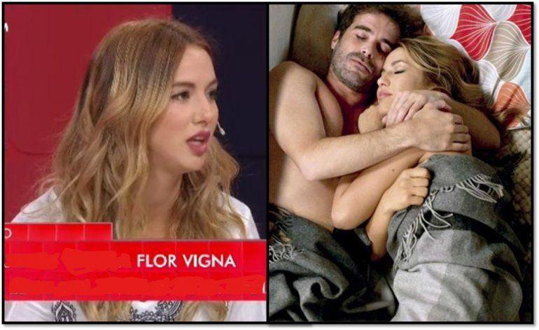 Flor Vigna categórica: No volvería a trabajar con Cabré