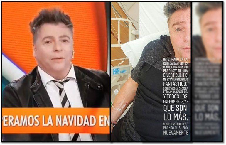 Daniel Ambrosino internado de urgencia: ¿Qué le pasó?