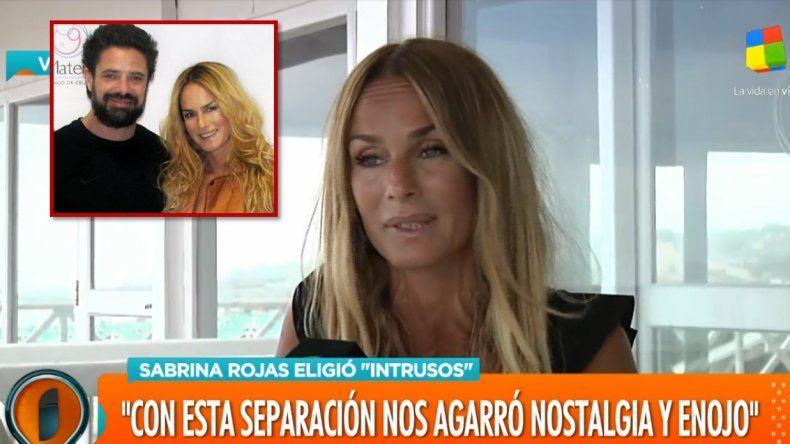 Sabrina Rojas habló de la separación: hay un desgaste, hubo hastío