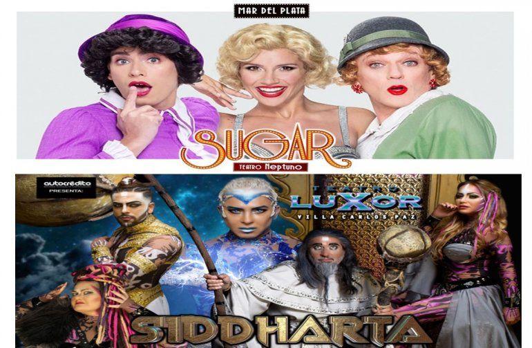 Sugar y Siddharta, las obras más vistas de la semana