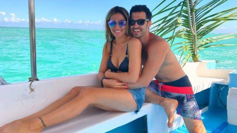 Jimena Barón y su novio Mauro Caiazza se declararon te amo en las redes