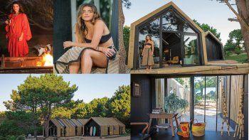 Calu Rivero diseñó y construyó una casa eco friendly en Uruguay para descansar en familia: mirá las fotos