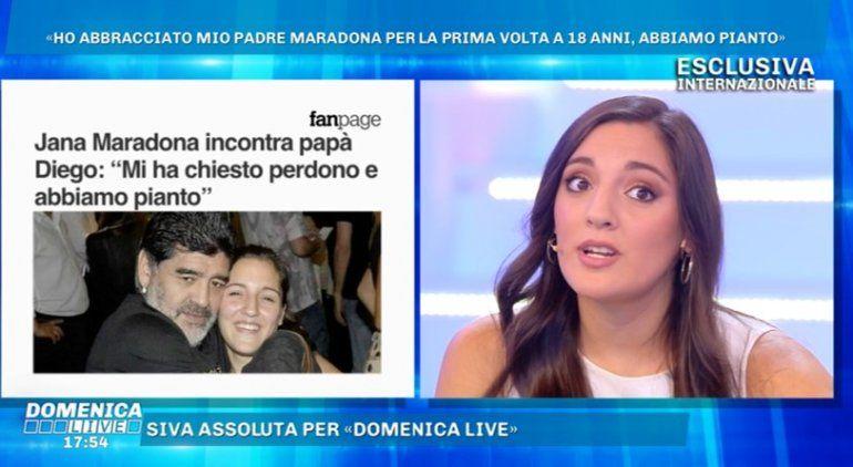 Jana Maradona contra las críticas: Porqué no cierran el or...