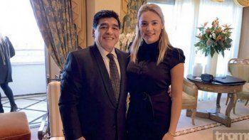 Rocío Oliva confirmó la separación de Diego Maradona: El amor se desgastó