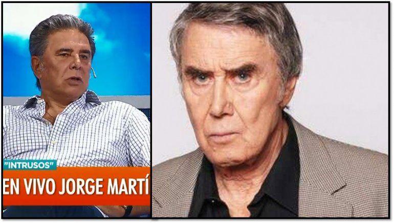 Jorge Martínez preocupado por la salud de Rodolfo Bebán: No está bien, me da mucha pena verlo así