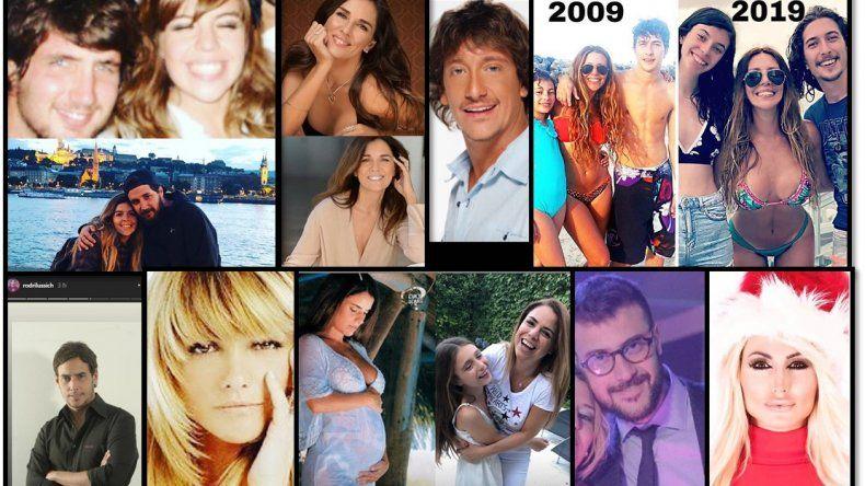 10 years challenge: Los famosos se sumaron al desafió viral, mirá los cambios