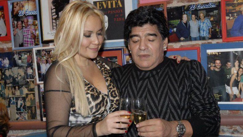 Diego Maradona confirmó su reconciliación con Verónica Ojeda: Hace cuatro días que estoy de novio