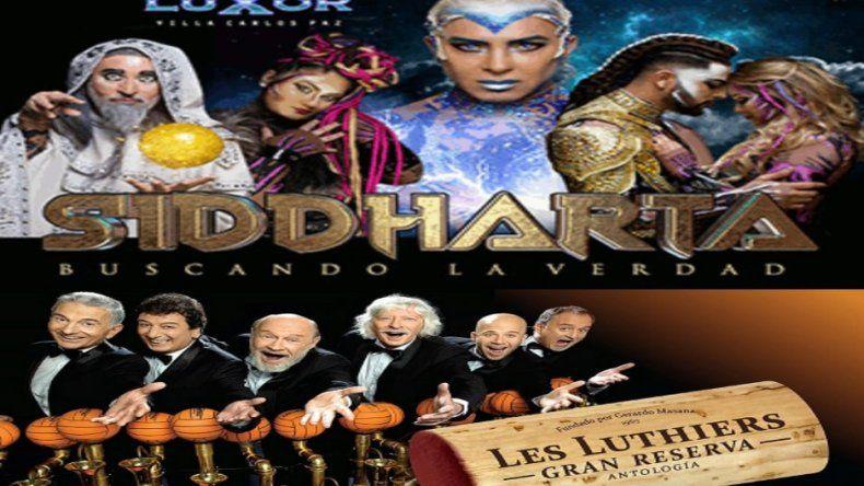 Les Luthiers y Siddharta, al tope de las recaudaciones teatrales de la temporada