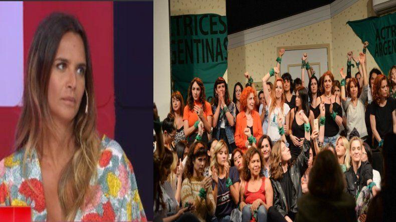 Amalia Granata contra el Colectivo de Actrices: Lo de Thelma fue muy armado, van a terminar complicando la causa