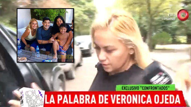 Verónica Ojeda dio la primera nota para aclarar si está de novia o no con Maradona