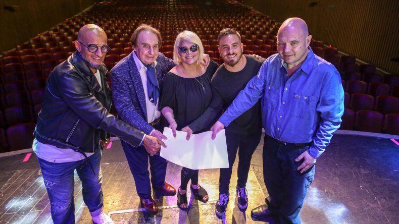 Se firmaron en Mar del Plata los dos primeros contratos teatrales para la temporada 2020