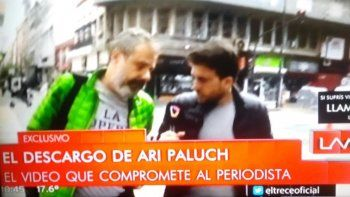 reaparecio ari paluch, luego de un nuevo video que lo incrimina con la microfonista: hay injusticias