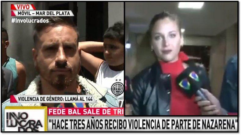 Fede Bal habló de la perimetral a Nazarena y se refirió al llanto de Barbie: No es mi culpa su llanto