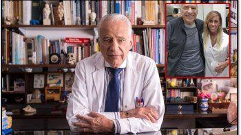 A los 80 años Alberto Cormillot está de novio con una joven nutricionista de 32 años