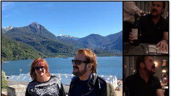 Susto para Pimpinela: cenaban en un piso 17 durante el sismo en Chile