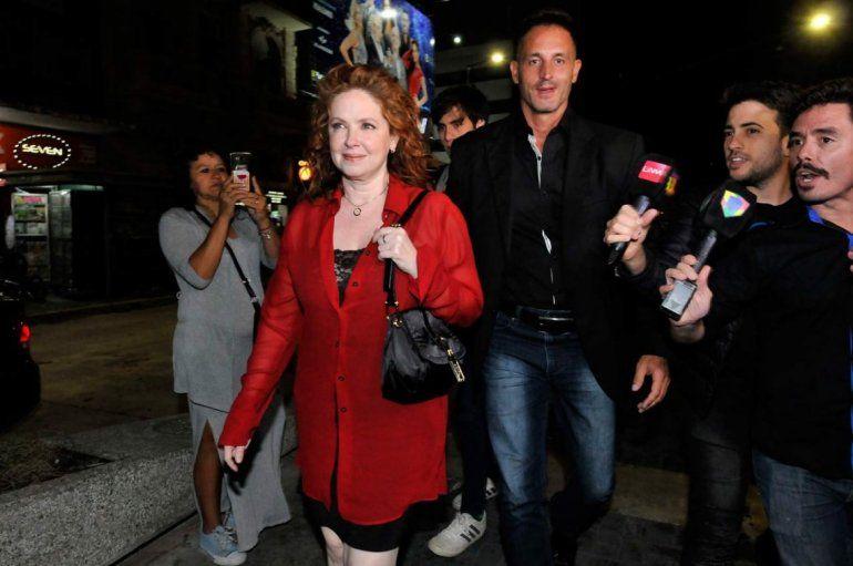 El abogado de Andrea del Boca habló después de la salida juntos al teatro, ¿hay romance?