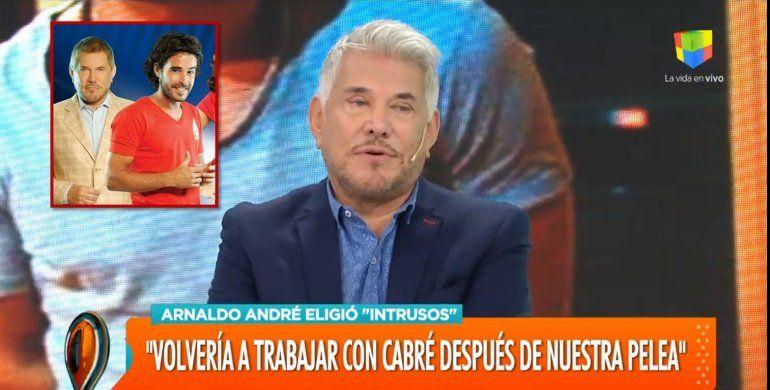 Arnaldo André reveló el motivo por el que se peleó con Nicolas Cabré y se fue de Los Únicos