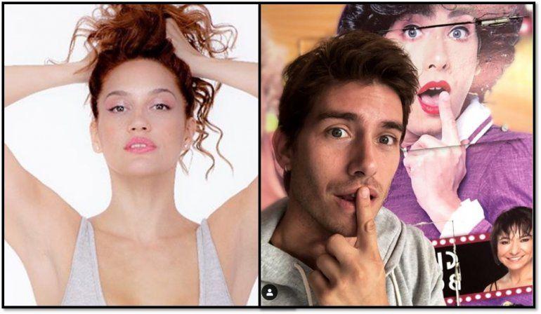 La ex de Nicolás Cabré con el actor que lo reemplaza en Sugar