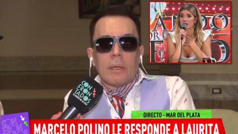 Polino lapidario con Laurita Fernández: Se Cabretizó, es una desagradecida