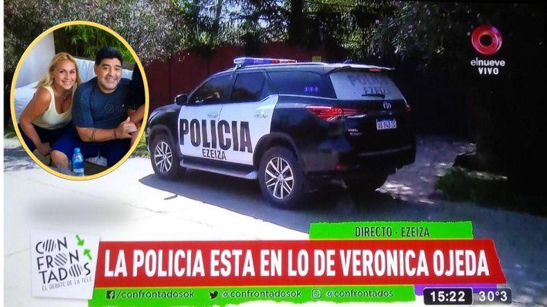 ¿Por qué se presentaron dos patrulleros en la casa de Verónica Ojeda?