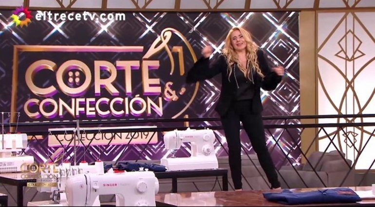 El accidente de Andrea Politti durante la grabación de su programa