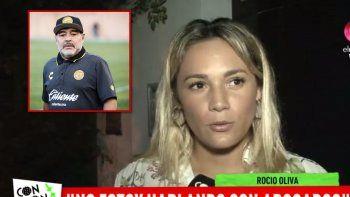 Rocío Oliva letal: Estoy segura de que Diego no siente nada por Verónica Ojeda