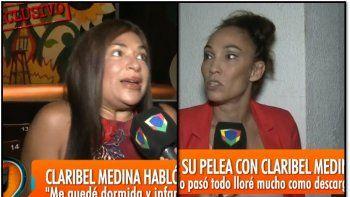 Después del enfrentamiento hablaron Claribel Medina y Ernestina Pais: ¿Qué pasó?