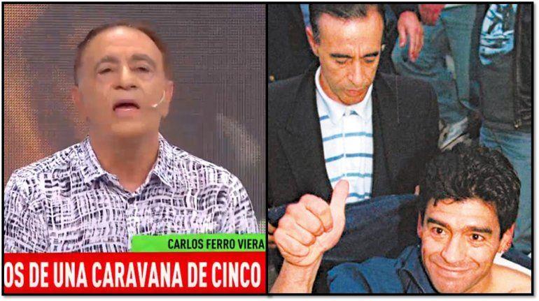 Carlos Ferro Viera, el ex amigo de Maradona, contó cómo fue el día en que Diego casi se muere en Punta del Este