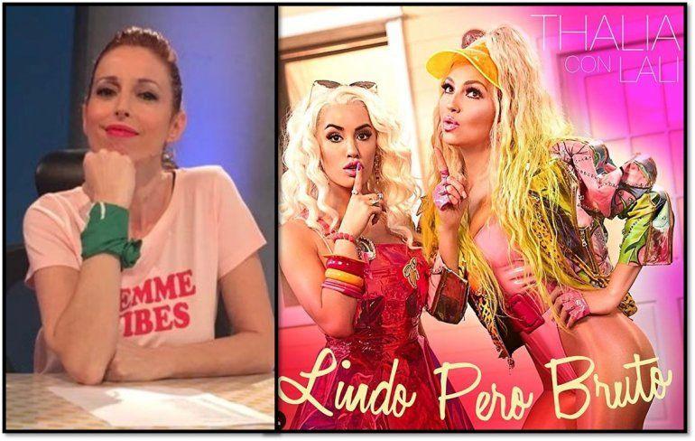 Anabel Cherubito muy crítica de Lindo pero bruto, la nueva canción de Lali Espósito y Thalía