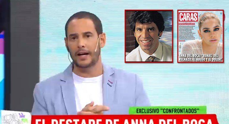 Durísimo editorial de Rodrigo Lussich contra Biasotti, el padre de Anna del Boca: Vos sos un caradura, un canalla