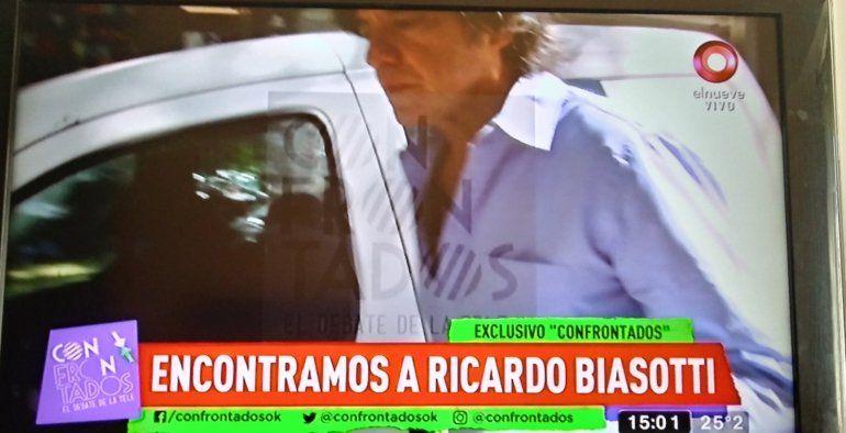 Apareció Biasotti: la primera imagen del ex de Andrea del Boca en una clínica porteña