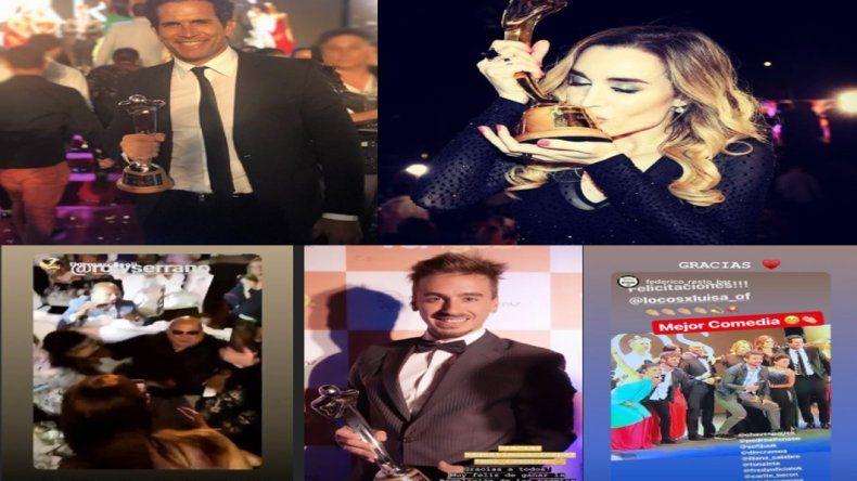 Se entregaron los Premios Carlos: Fátima Florez se llevó el Oro
