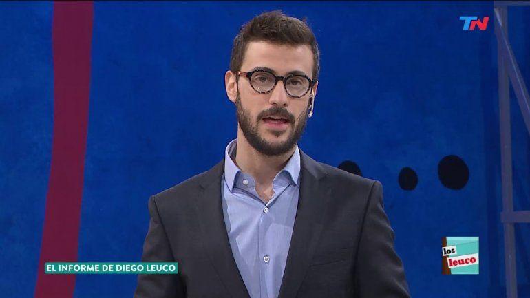 Diego Leuco, el nuevo conductor de Telenoche