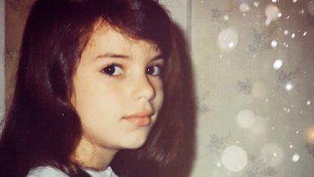 Famosa actriz subió una foto retro: Dejo por acá esta mini de 5 años seria y prolija