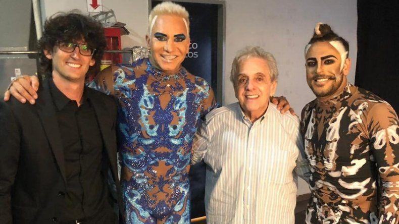 Gasalla y Flavio Mendoza se reunieron en Carlos Paz y se preparan para hacer temporada juntos