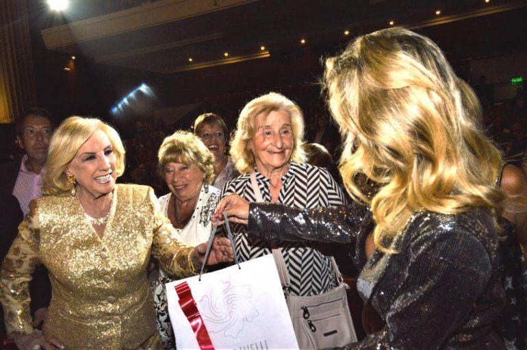 Mirtha Legrand fue a ver Sugar y elogió la obra de Laurita Fernández y Fede D´Elía: Pensé que estaba en Broadway