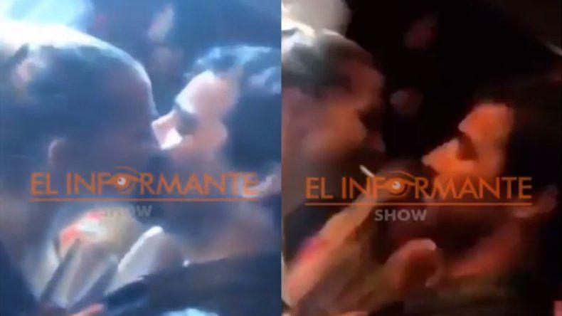 Ya no pueden ocultarlo: Sole Fandiño y Nacho Viale juntos y a los besos