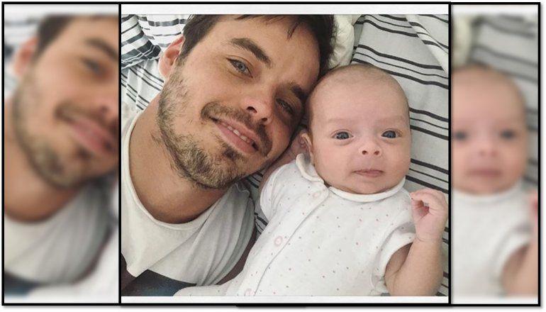 El agradecimiento de Benjamín Rojas a las enfermeras que cuidaron a su hija Rita: Mirá lo que les obsequió