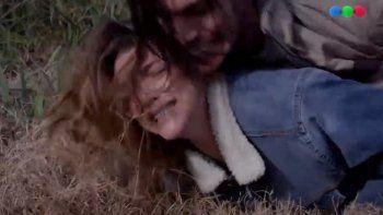 Fuerte escena en Campanas en la noche: violaron a Luciana, el personaje de Calu Rivero