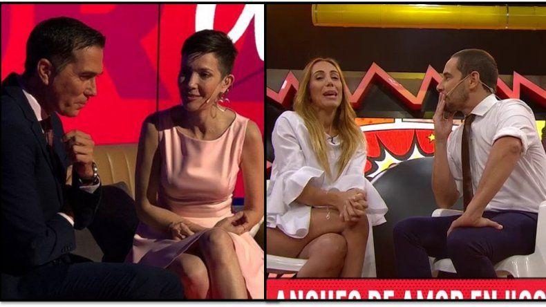 La parodia del No romance de Barili y Cristina Pérez: en Confrontados los hicieron pelota