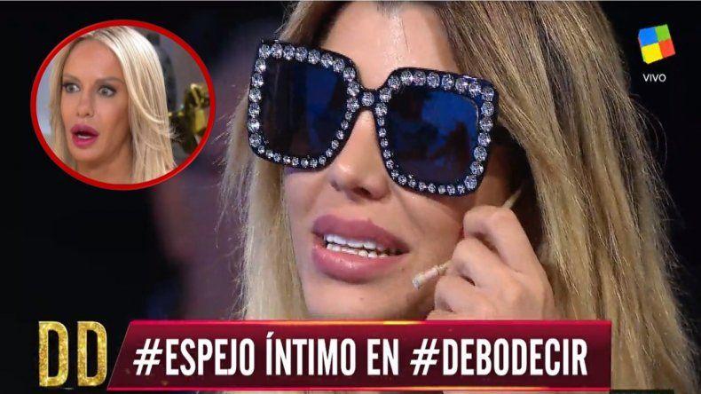 La pobre participación de Charlotte Caniggia en Debo Decir: Solo blanqueó sus cirugías y le pegó duro a Luciana Salazar