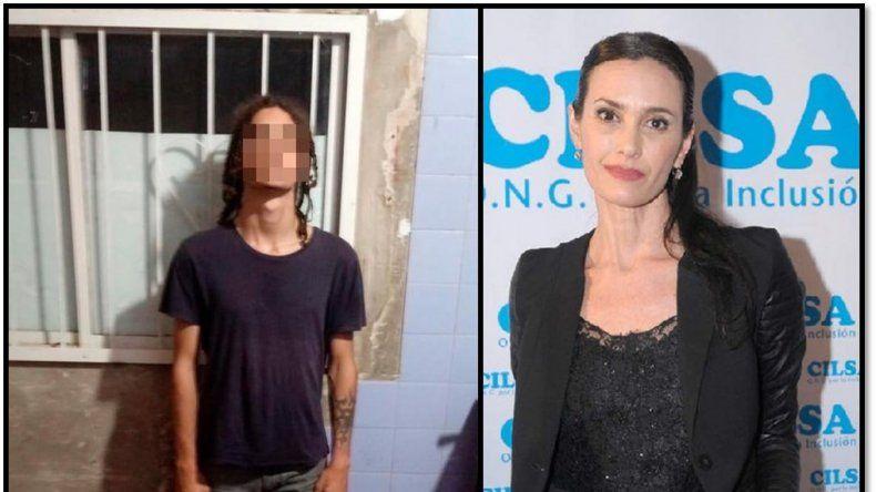 Detienen al hijo de Federica Pais acusado de motochorro